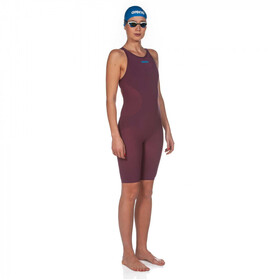 arena Powerskin R-Evo One Swimsuit Women red wine/turquoise